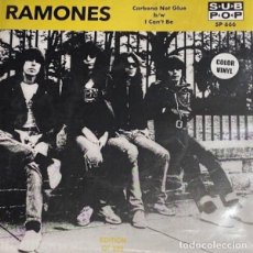 "Discos de vinilo: RAMONES CARBONA NOT GLUE (7"") . VINILO PUNK ROCK AND ROLL JOEY DEE DEE JOHNNY. Lote 295484348"