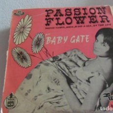 Discos de vinilo: BABY GATE - PASSION FLOWER + 3 EP 1959. Lote 295484948