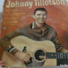Discos de vinilo: JOHNNY TILLOTSON - POESIS RITMICA + 3 EP. Lote 295485463