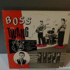 Discos de vinil: DISCO VINILO LP. THE KEYMEN, AL CASEY, DUANE EDDY – BOSS TWANG. 33 RPM. Lote 295485693