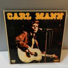Discos de vinil: DISCO VINILO LP. CARL MANN – GONNA ROCK 'N' ROLL TONIGHT. 33 RPM. Lote 295486073