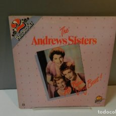 Discos de vinilo: DISCO VINILO LP. THE ANDREWS SISTERS – AT THEIR VERY BEST. 33 RPM. Lote 295488968