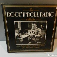 Discos de vinil: DISCO VINILO LP. THE DRIFTERS, THE CLEFTONES – ROCK 'N' ROLL RADIO THE COLLECTION. 33 RPM. Lote 295489488