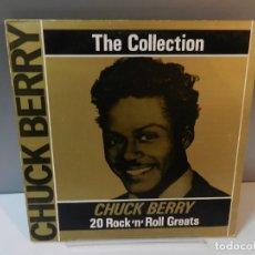 "Discos de vinil: DISCO VINILO LP. CHUCK BERRY – ""THE CHUCK BERRY COLLECTION"" 20 ROCK'N'ROLL GREATS. 33 RPM. Lote 295489803"