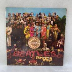 Discos de vinilo: LP - VINILO THE BEATLES - SGT. PEPPER'S LONELY HEARTS - DOBLE PORTADA + ENCARTE - ESPAÑA - AÑO 1967. Lote 295491893