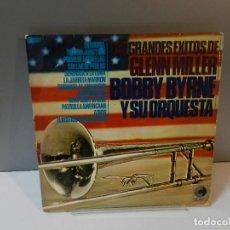 Discos de vinilo: DISCO VINILO LP. BOBBY BYRNE Y SU ORQUESTA – GRANDES EXITOS DE GLENN MILLER. 33 RPM. Lote 295493383