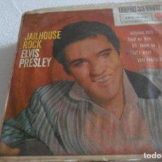 Discos de vinilo: ELVIS PRESLEY - JAILHOUSE ROCK + 3 EP 1961. Lote 295496488