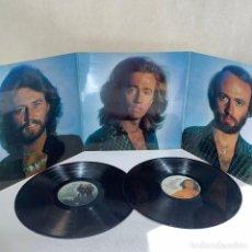 Discos de vinilo: LP - VINILO BEE GEES - GREATEST - TRIPLE PORTADA + ENCARTE - ESPAÑA - AÑO 1979. Lote 295497273