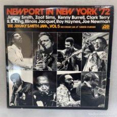 Discos de vinilo: LP - VINILO NEWPORT IN NEW YORK '72 (THE JIMMY SMITH JAM) VOLUME 5 - ESPAÑA - AÑO 1973. Lote 295498333