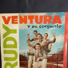 Discos de vinilo: RUDY VENTURA, RECORDANT LA MOÑOS, COLUMBIA, 1960. Lote 295500308