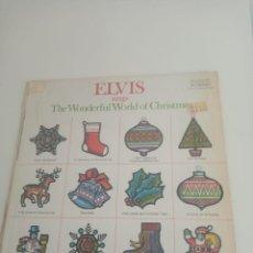 """Discos de vinilo: ELVIS SINGS """"THE WONDERFUL WORLD OF CHRISTMAS"""". EDITADO EN 1971 EN USA HACE JUSTO 50 AÑOS. Lote 295500573"""