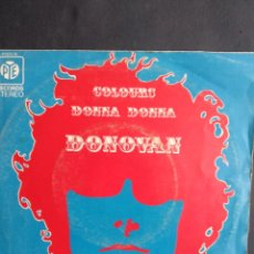 Discos de vinilo: DONOVAN, DONNA DONNA, PYE RECORDS, 1965. Lote 295503163