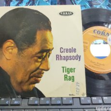 Discos de vinilo: DUKE ELLINGTON SINGLE CREOLE RHAPSODY ESPAÑA 1959. Lote 295503508