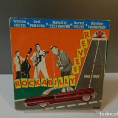 Discos de vinilo: DISCO VINILO LP. HAYDEN THOMPSON, CARL PERKINS, WARREN SMITH – ROCKABILLY FEVER. 33 RPM. Lote 295505593