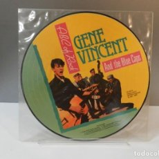 Discos de vinilo: DISCO VINILO LP. GENE VINCENT AND THE BLUE CAPS – ABC OF ROCK. 33 RPM. Lote 295506578