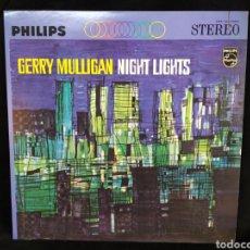 Discos de vinilo: LP GERRY MULLIGAN – NIGHT LIGHTS. PHILIPS – PHS 600-108. POLYGRAM RECORDS 1963. JAPAN.. Lote 295506838