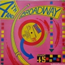 Discos de vinilo: MAXI - SKIPWORTH & TURNER - THINKING ABOUT YOUR LOVE - USA 1985. Lote 295507093