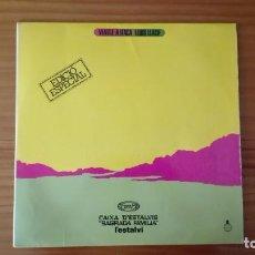 Discos de vinilo: VIATGE A ITACA LP LLUÍS LLACH EDICIÓ ESPECIAL. Lote 295507458