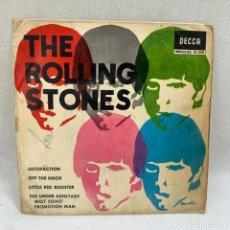 Discos de vinilo: EP THE ROLLING STONES - SATISFACTION - ESPAÑA - AÑO 1965. Lote 295510988