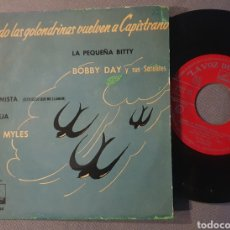 Discos de vinilo: BOBBY DAY / BILLY MYLES - EP SPAIN 1958 ROCK AND ROLL / R&B. Lote 295511948