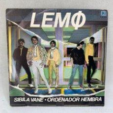 Discos de vinilo: SINGLE LEMO - SIBILA VANE / ORDENADOR HEMBRA - ESPAÑA - AÑO 1981. Lote 295511973