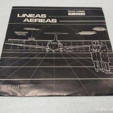 Discos de vinilo: LINEAS AEREAS – LANDSCHAFTEN / BENELUX / RADIOTRON----1983 PRESS +INSERT. Lote 295512438