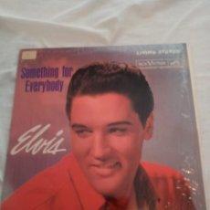 """Discos de vinilo: ELVIS PRESLEY """"SOMETHING FOR EVERYBODY"""" LP. RE-EDICIÓN EN CANADÁ EN 1977.. Lote 295513218"""