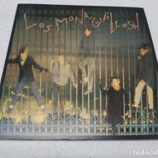 Discos de vinilo: LOS MONAGUILLOSH - VOCES EN LA JUNGLA - EDICION 1983 DOS ROMBOS. Lote 295513643