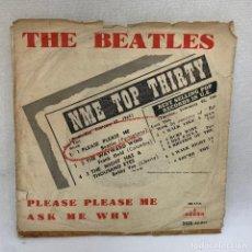 Discos de vinilo: SINGLE THE BEATLES - PLEASE PLEASE ME - ESPAÑA - 1963 - FIRST PRESS - DSOL 66.41. Lote 295514928