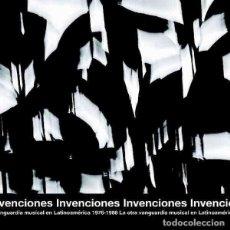 Discos de vinilo: VARIOS INVENCIONES (LA OTRA VANGUARDIA MUSICAL EN LATINOAMERICA 1976-1988) (2XLP). Lote 295517368
