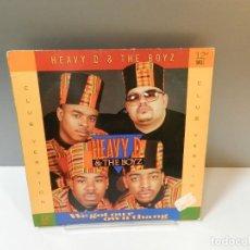Discos de vinilo: DISCO VINILO MAXI. HEAVY D. & THE BOYZ – WE GOT OUR OWN THANG. 45 RPM. Lote 295518378