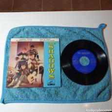 Discos de vinilo: MS-1. THE SHADOWS - NIVRAM + 3 TEMAS - LA VOZ DE SU AMO 7EPL 13.740 ESPAÑA 1962.. Lote 295521758