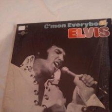 """Discos de vinilo: ELVIS PRESLEY """"C'MON EVERYBODY"""" RCA CAMDEN 1971 EN CANADÁ. DISCO EN MONO. Lote 295525653"""