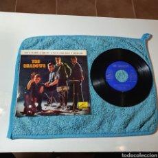 Discos de vinilo: MS-1. THE SHADOWS - SOUTH OF THE BORDER + 3 TEMAS - LA VOZ DE SU AMO 7EPL 13.899 ESPAÑA 1963.. Lote 295527163