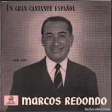 Discos de vinilo: MARCOS REDONDO Y LA ORQUESTA SINFONICA ESPAÑOLA - EL DIVO Y LA LINDA TAPADA. EP 1959 RF-5963. Lote 295532458