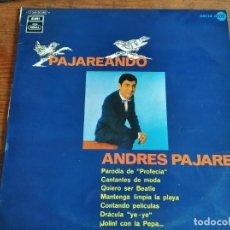 Discos de vinilo: ANDRÉS PAJARES - PAJAREANDO ******** LP 1970 INCLUYE DRÁCULA YE-YÉ, BUEN ESTADO!. Lote 295535323