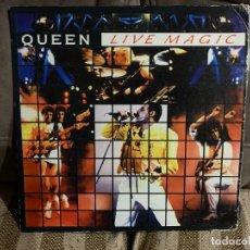 Discos de vinilo: QUEEN – QUEEN LIVE MAGIC. VINILO. ESTADO VG+/VG. 1986. EDICION FILIPINAS. Lote 295539008
