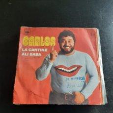 Discos de vinilo: CARLOS. Lote 295539248