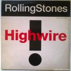 Discos de vinilo: ROLLING STONES. HIGHWIRE. CBS-SONY, SPAIN 1991 MAXI-LP. Lote 295539283