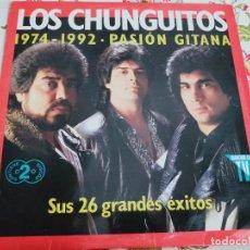 Discos de vinilo: LOS CHUNGUITOS – 1974 - 1992 PASIÓN GITANA EMI – 7995881 2XLP, COMP 1992.NUEVO. MINT / VG++. Lote 295540168