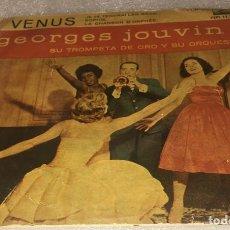 Discos de vinilo: EP GEORGES JOUVIN - VENUS Y OTROS TEMAS - LA VOZ DE SU AMO 7EPL13.322 -PEDIDO MINIMO 7€. Lote 295540758