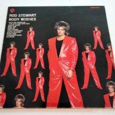 Discos de vinilo: VINILO LP DE ROD STEWART. BODY WISHES. 1983.. Lote 295542423