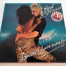 Discos de vinilo: VINILO LP DE ROD STEWART. BLONDES HAVE MORE FUN. 1978.. Lote 295542583