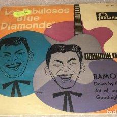 Discos de vinilo: EP LOS FABULOSOS BLUE DIAMONDS - RAMONA Y OTROS TEMAS - FONTANA 463.203TE -PEDIDO MINIMO 7€. Lote 295542888