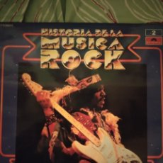 Discos de vinilo: JIMI HENDRIX. HISTORIA DE LA MÚSICA ROCK. NÚMERO 2. LP.. Lote 295544533