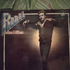 Discos de vinilo: JOHN MILES. REBEL. LP.. Lote 295544683