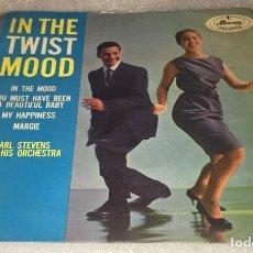 Discos de vinilo: EP CARL STEVENS AND HIS ORCHESTRA IN THE TWIST MOOD - IN THE MOOD Y OTROS TEMAS -PEDIDO MINIMO 7€K. Lote 295545318