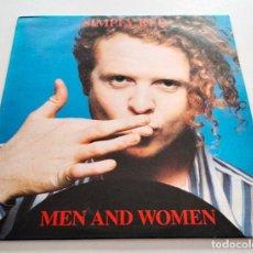 Discos de vinilo: VINILO LP DE SIMPLY RED. MEN AND WOMEN. 1987.. Lote 295546188