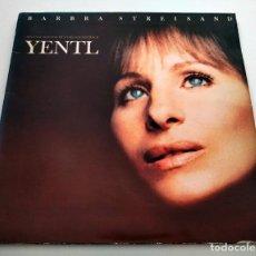 Discos de vinilo: VINILO LP BSO YENTL (BARBRA STREISAND). 1983.. Lote 295546918