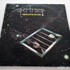 Discos de vinilo: VINILO LP DE SUPERTRAMP. CRIME OF THE CENTURY. 1974.. Lote 295547108